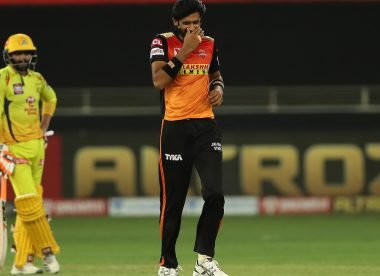 Khaleel Ahmed clarifies after being criticised for Dwayne Bravo send-off