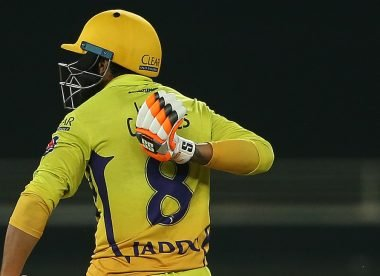 Four possible explanations for Jadeja pointing at 'India Cements' after CSK's last ball win