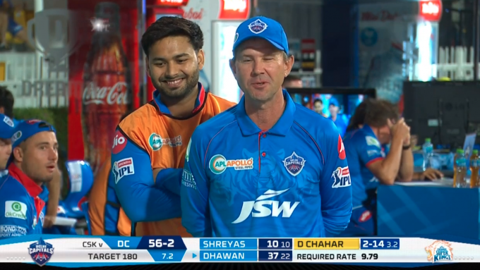 Rishabh Pant pranks Ricky Ponting during on-air pitchside chat