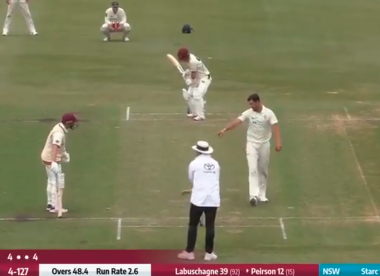 Watch: Starc serves Mankad warning to Australia teammate Labuschagne