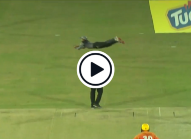 Watch: Mohammad Rizwan takes astonishing 'Superman' catch
