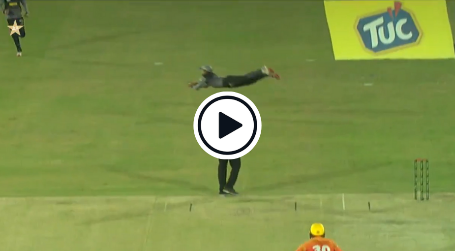 Watch: Mohammad Rizwan Takes Astonishing 'Superman' Catch