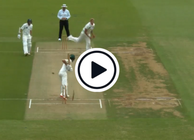 Watch: Off-stump sent cartwheeling as New Zealand bowler completes stunning hat-trick