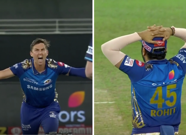 IPL 2020: Rohit gets DRS call wrong by turning down Boult's appeal
