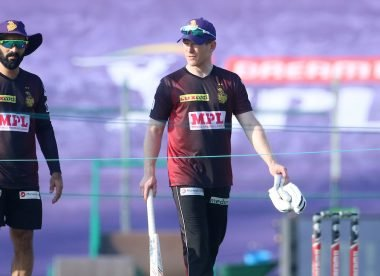 Hogg explains why Morgan shouldn't replace Karthik as KKR captain