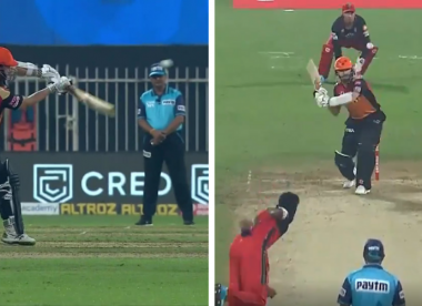 Players, fans left bemused after head-high full toss uncalled as no-ball