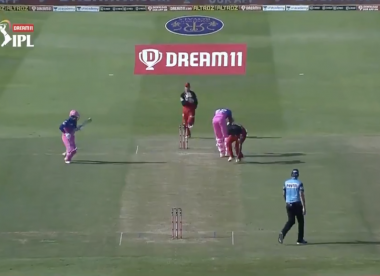 Watch: Jofra Archer involved in one of the great comedy run-out near misses