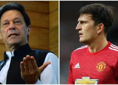 The Mirror falls for Imran Khan-Harry Maguire satire