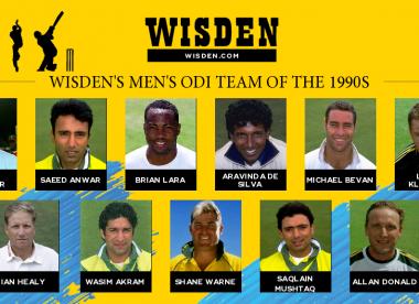1990s in Review: Wisden's men's ODI team of the 1990s