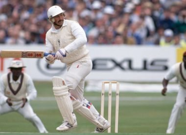 Wisden's Test innings of the 1990s, No.2: Graham Gooch's 154*