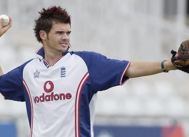 Quiz! Match James Anderson's haircuts to the year he sported them