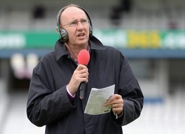 Jonathan Agnew on getting shot on the nose, a phone call from Bumble, and the radio years