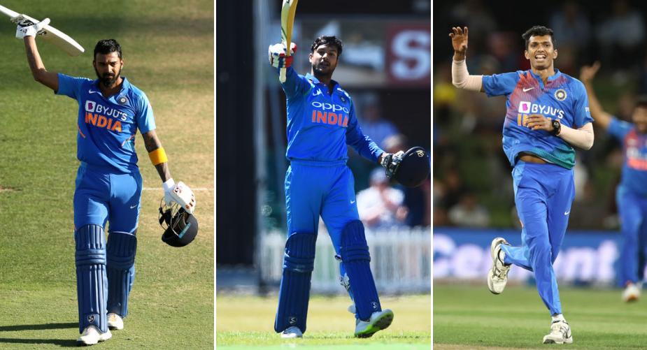 India Australia First ODI XI