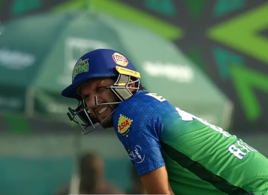 Shahid Afridi dons unusual helmet in PSL return