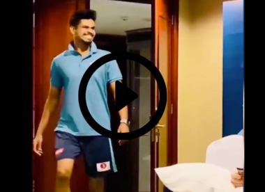 Watch: Shreyas Iyer performs hilarious Marcus Stoinis impression to Delhi teammates