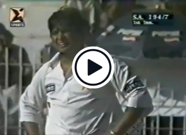 Watch: Incredible unearthed Test footage shows ball passing through stumps