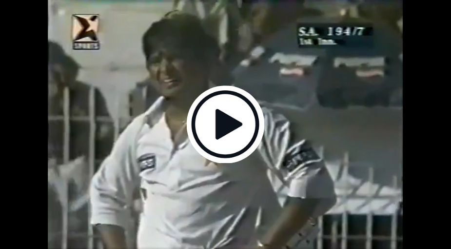 Watch: Unearthed Test Footage Shows Ball Passing Through Stumps