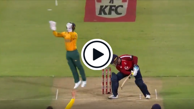 Watch: TV producers poke fun at Jason Roy after second-ball duck