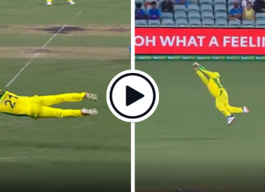 Watch: Two Aussie screamers derail India's chase