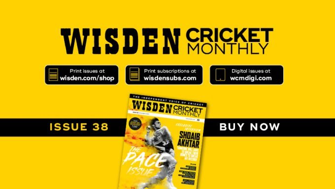 Wisden Cricket Monthly issue 38: The Pace Issue