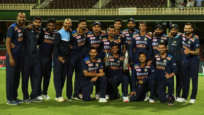 Australia v India: The T20I team of the series