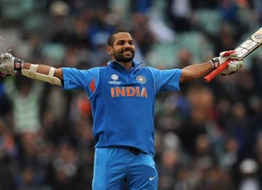 Shikhar Dhawan: The star of India's 2013 Champions Trophy triumph – Almanack