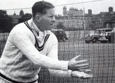 The summer Freddie Brown arrived as a first-class all-rounder – Almanack