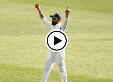 Watch: Virat Kohli pulls off stunning catch after India teammates drop sitters