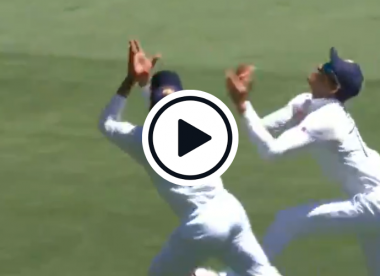 Watch: Jadeja takes excellent catch after collision with Gill
