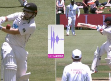 Henry Nicholls oddly opts not to review dismissal despite being hit on forearm