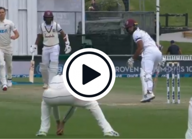 Watch: 'Daylight robbery' – Slip catch causes controversy in New Zealand-West Indies Test