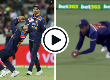 Watch: Samson shows Kohli how it's done with excellent outfield catch