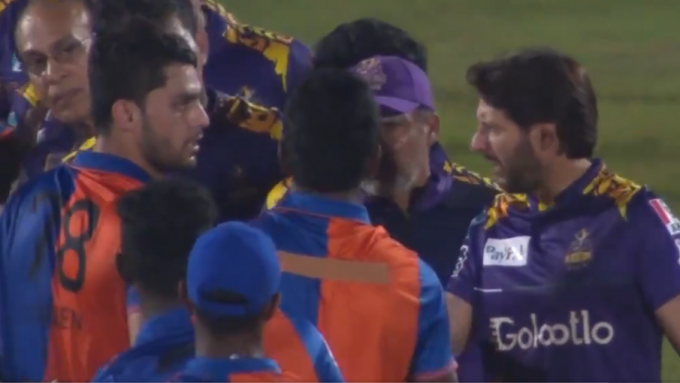 Amir, Afridi, Naveen on-field spat bubbles over into social media slanging match