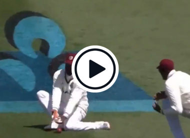 Watch: Shannon Gabriel caught on stump mic swearing at teammate after dropped catch