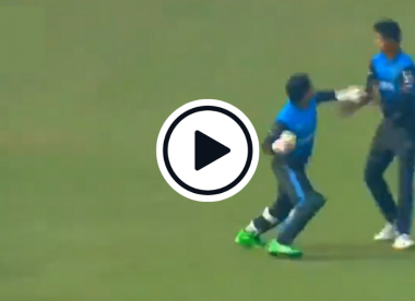Watch: Mushfiqur Rahim loses his rag at teammate after catch call confusion