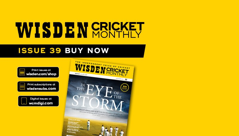 Wisden Cricket Monthly issue 39: Joe Root Exclusive