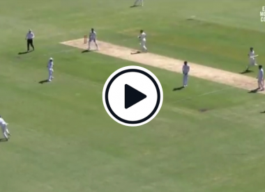 Watch: Rohit Sharma hit by a wild Prithvi Shaw throw