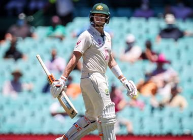 'Did he not hit that?' – Steve Smith walks off shaking his head after DRS dismissal