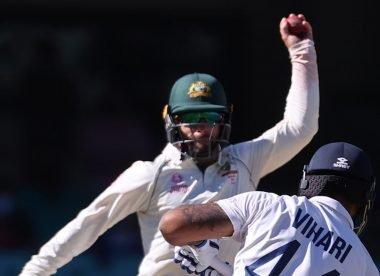 Watch: Matthew Wade hits injured Hanuma Vihari with errant throw