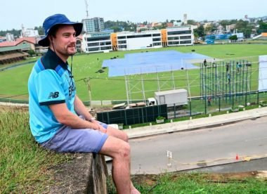 Rob Lewis, the England fan who's waited nearly a year in Sri Lanka for the return of Test cricket