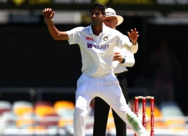 Washington Sundar takes first tentative steps out of Ashwin's shadow