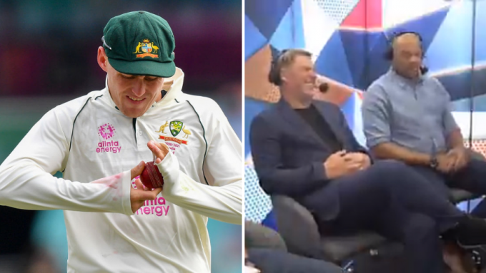 Kayo Sports apologise after Warne, Symonds caught mocking Labuschagne