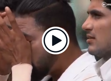 Watch: Mohammed Siraj wipes away tears during emotional rendition of national anthem