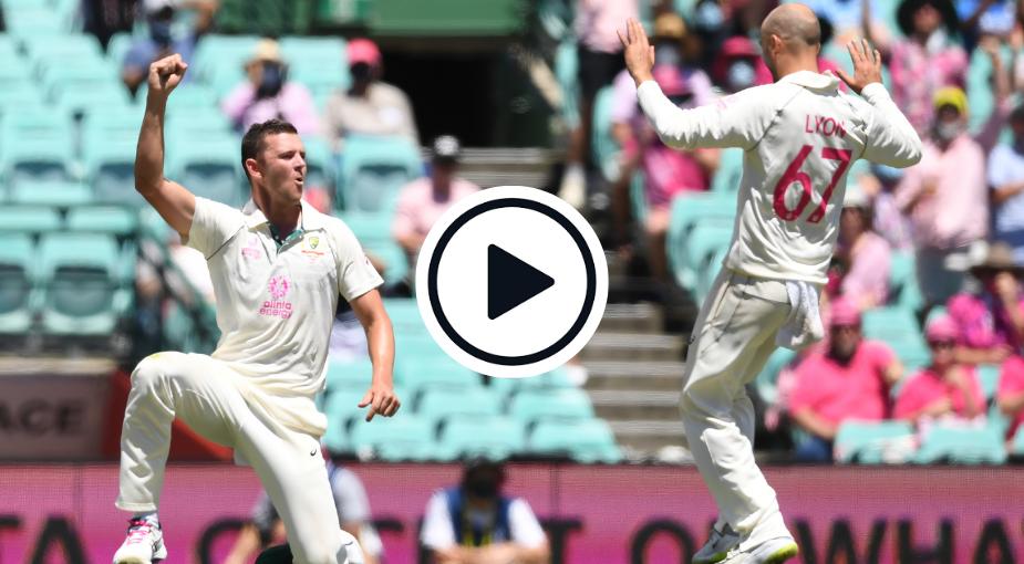 Watch: Josh Hazlewood Pulls Off Extraordinary Run Out To See Off Hanuma Vihari