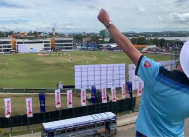 Fan who waited a year for England's return to Sri Lanka booted from Galle fort, belts out Jerusalem anyway