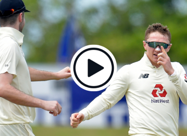 Watch: 'Embarassed' Dom Bess takes village wicket with an 'absolute drag down'