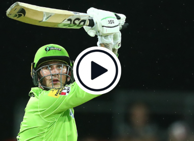 Watch: Alex Hales blasts 51-ball century in record BBL total