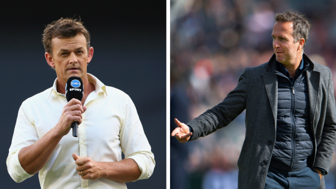 Vaughan, Gilchrist clash over perceived hypocrisy in criticism of landmark-denying wide balls