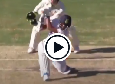 Watch: Smashington Sundar hits incredible no-look six