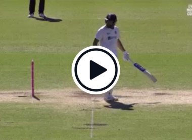 Watch: Rohit Sharma narrowly avoids dozy run out after alert throw